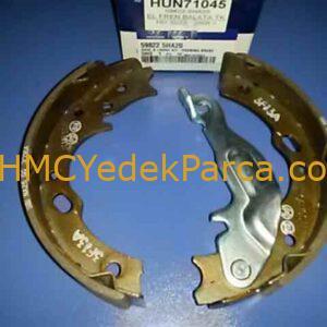 HYUNDAI HD35 EL FREN BALATASI TAKIM HD75 EUR4 140BG 08/- ORJINAL 59822-5HA20